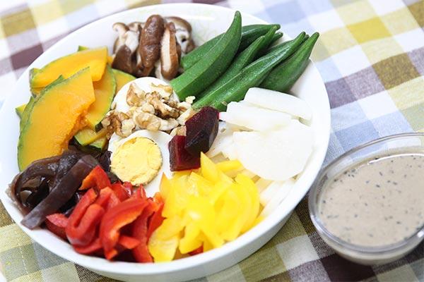 蔬食料理_溫沙拉-癌症關懷基金會