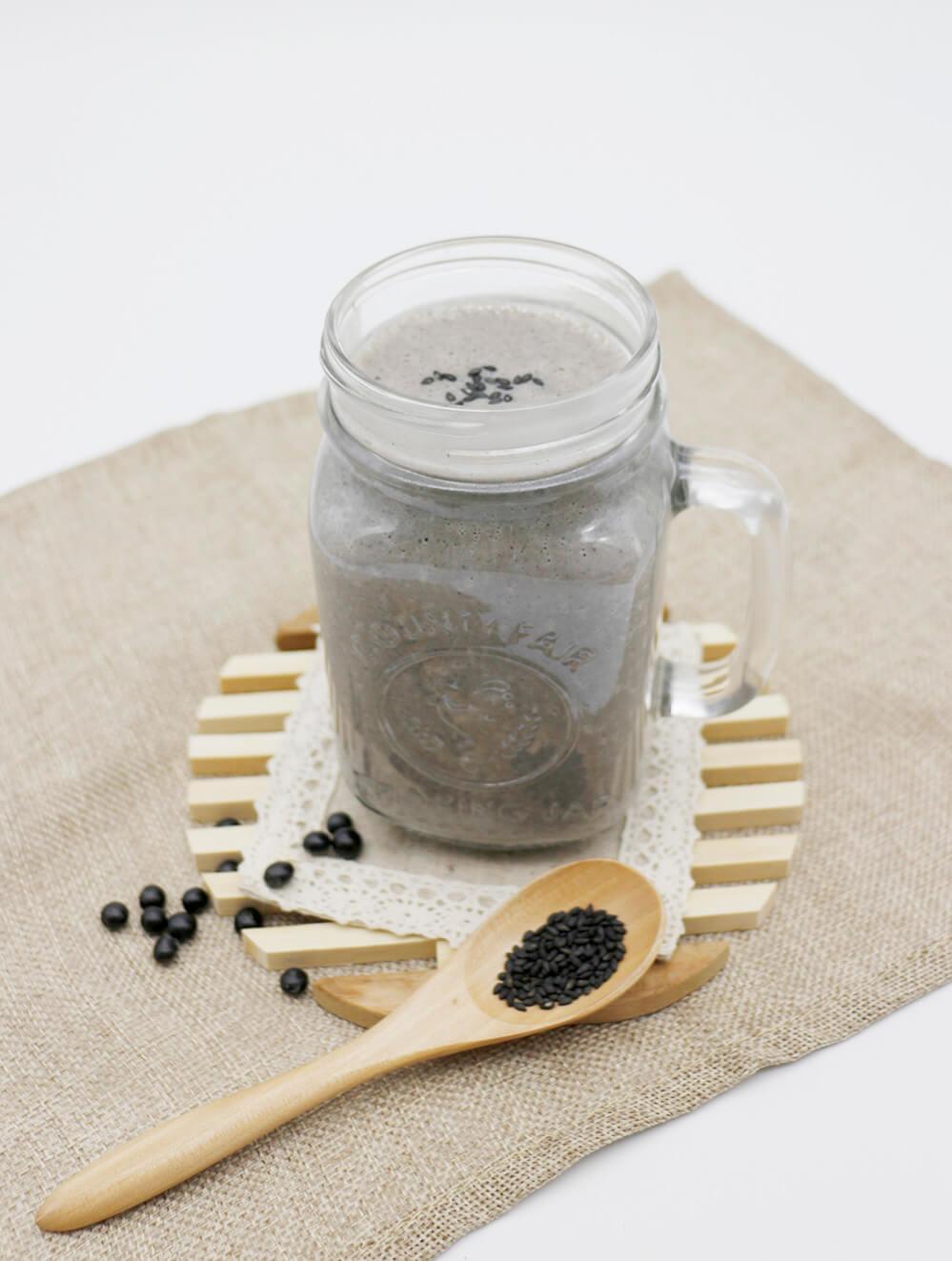 高鈣黑芝麻豆漿 豆穀漿│癌症關懷基金會