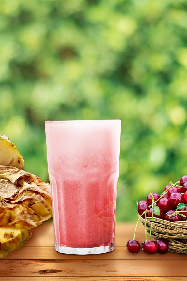櫻桃鳳梨汁