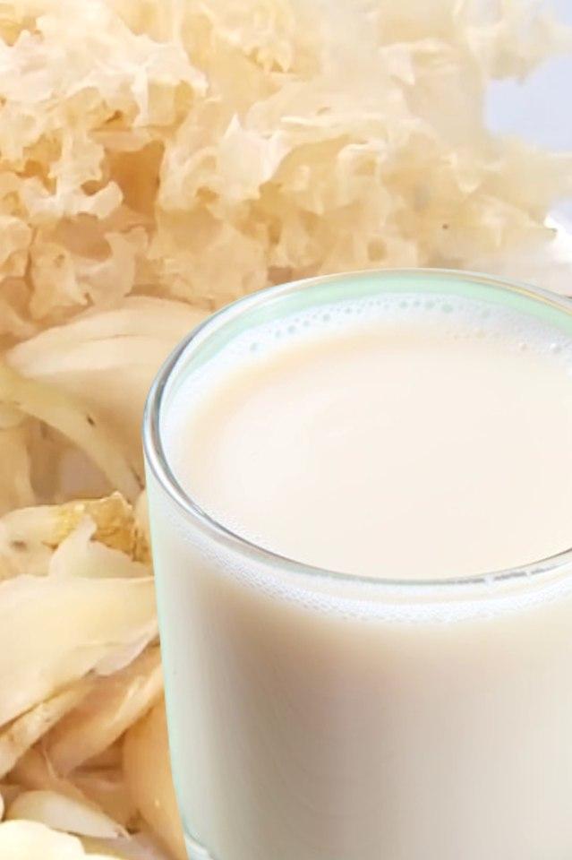 山藥銀耳百合奶漿|抗癌、抗發炎、補充多醣體