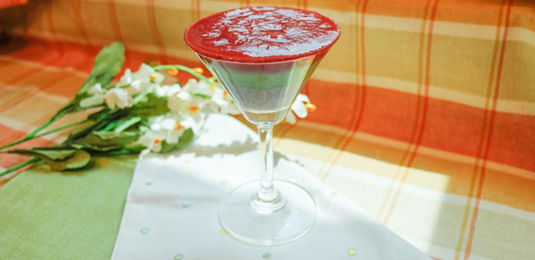 漸層蔬果汁