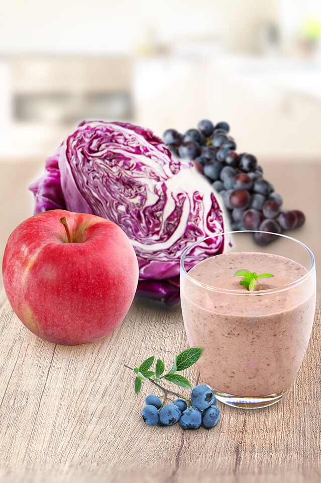 葡萄藍莓精力湯