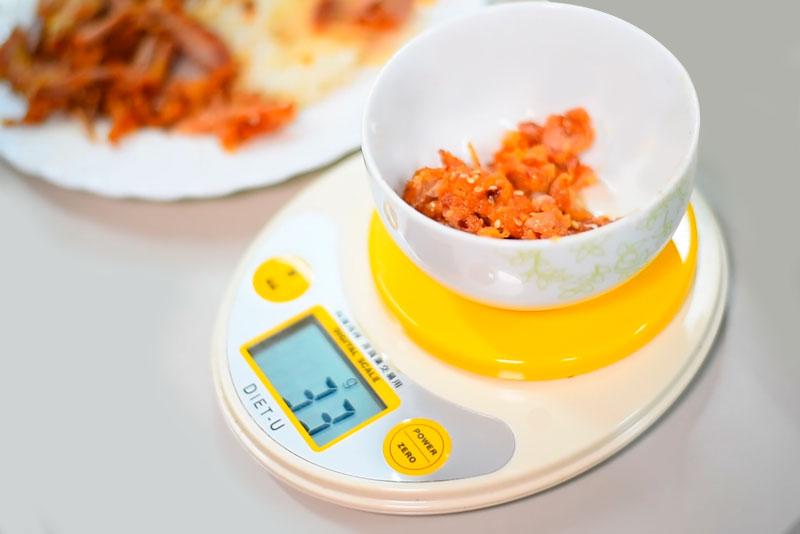 做自己的營養師-食物計算過程