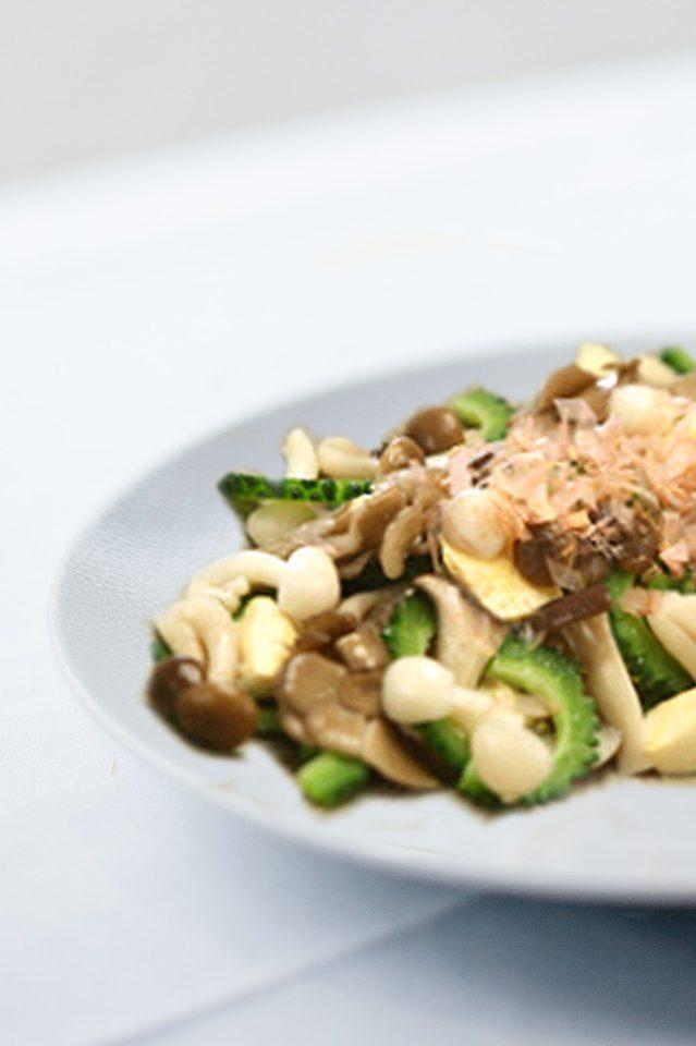沖繩風苦瓜豆腐菇