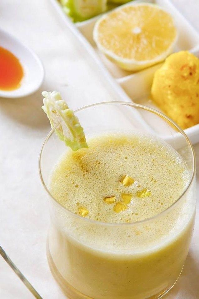 鳳梨苦瓜汁|豐富維生素C適合癌友飲用