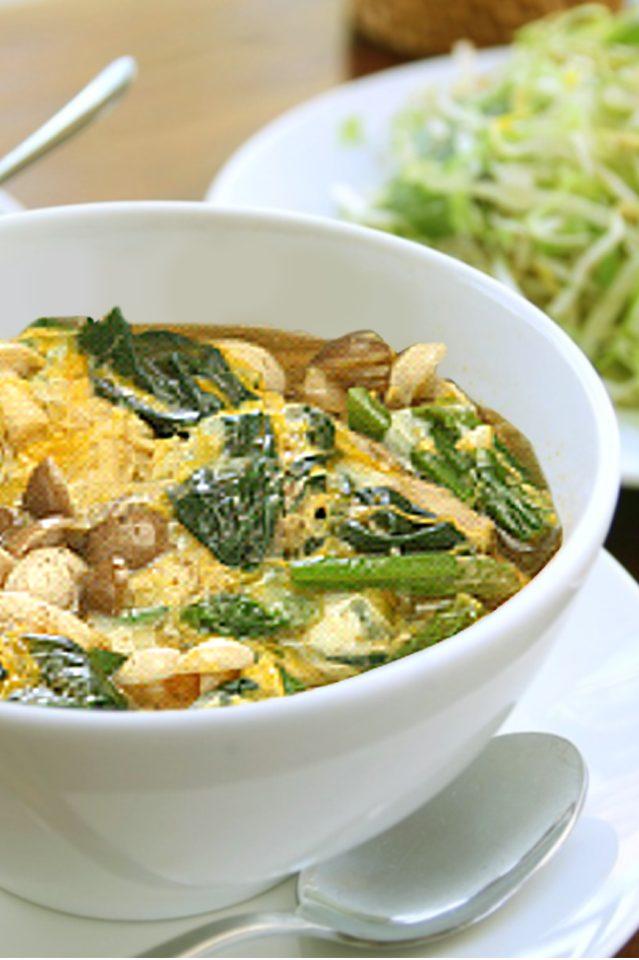 菠菜滑蛋菇菇湯