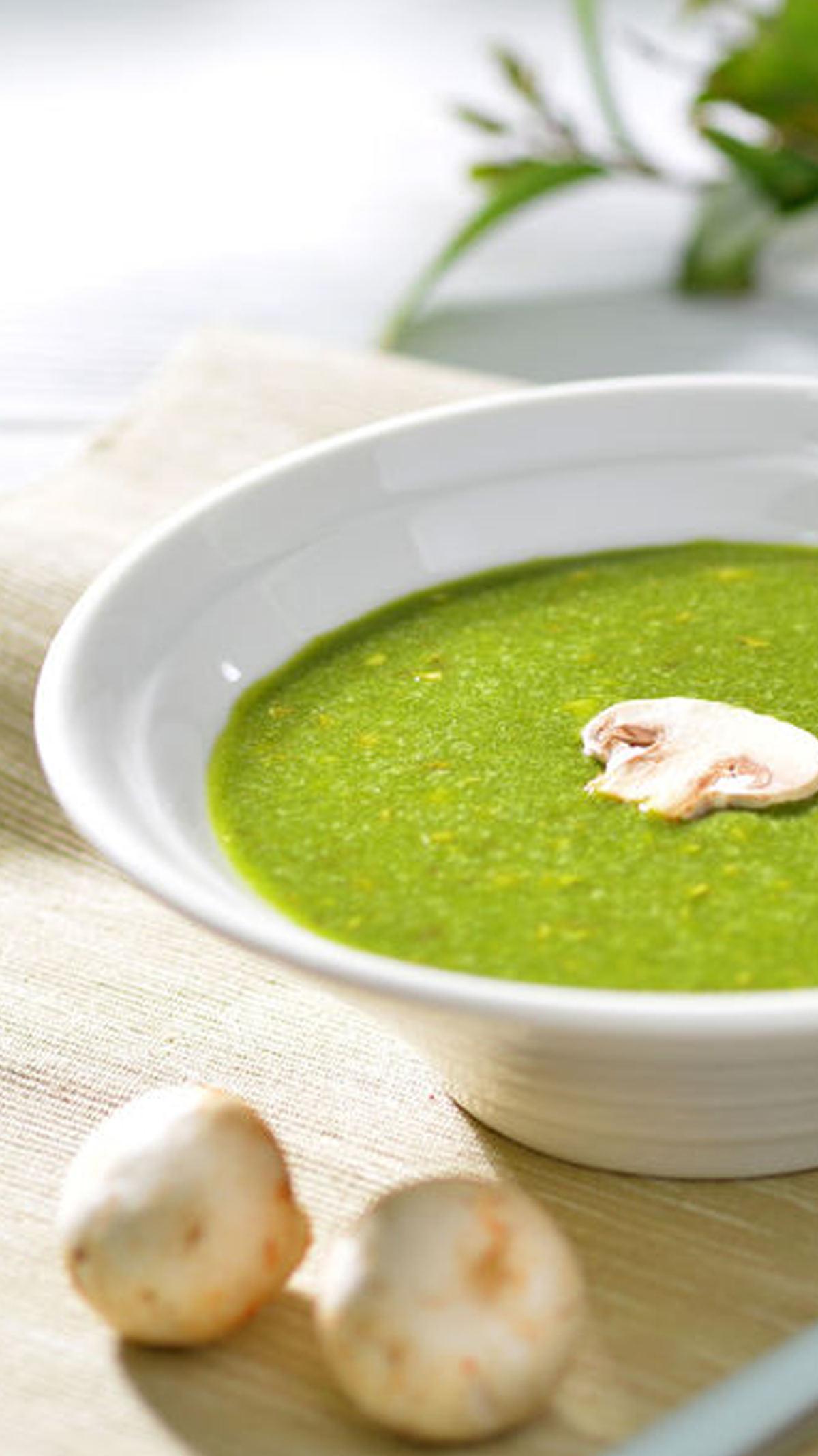 菠菜濃湯|營養均衡又簡單易做的鹹濃湯