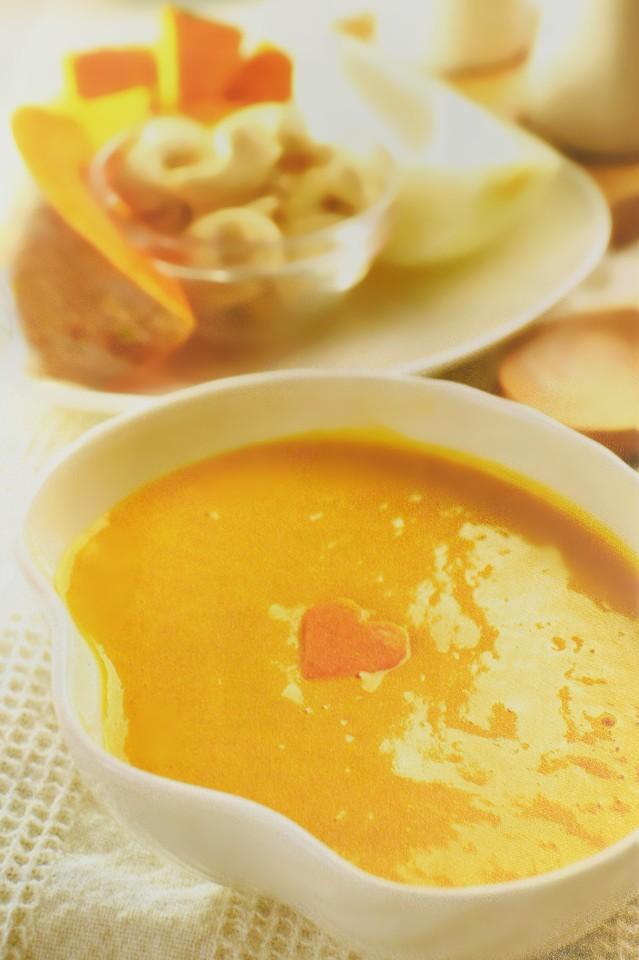 南瓜洋蔥濃湯