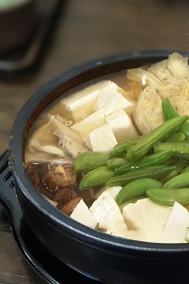 蔬菜五行豆腐鍋